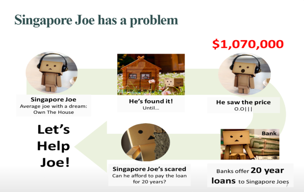 Singapore Joe Looks for a House in Singapore. But it's too expensive